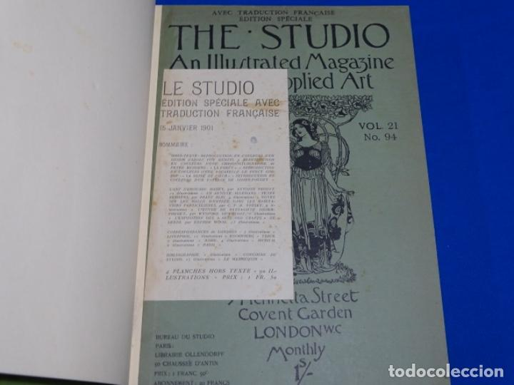 REVISTA THE STUDIO.AÑO 1901 - I (Coleccionismo - Revistas y Periódicos Antiguos (hasta 1.939))