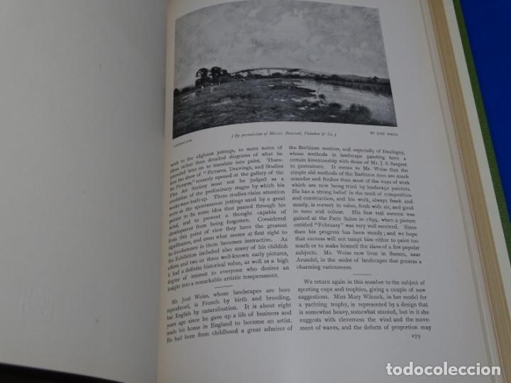 Coleccionismo de Revistas y Periódicos: REVISTA THE STUDIO.AÑO 1901 - I - Foto 3 - 222087326