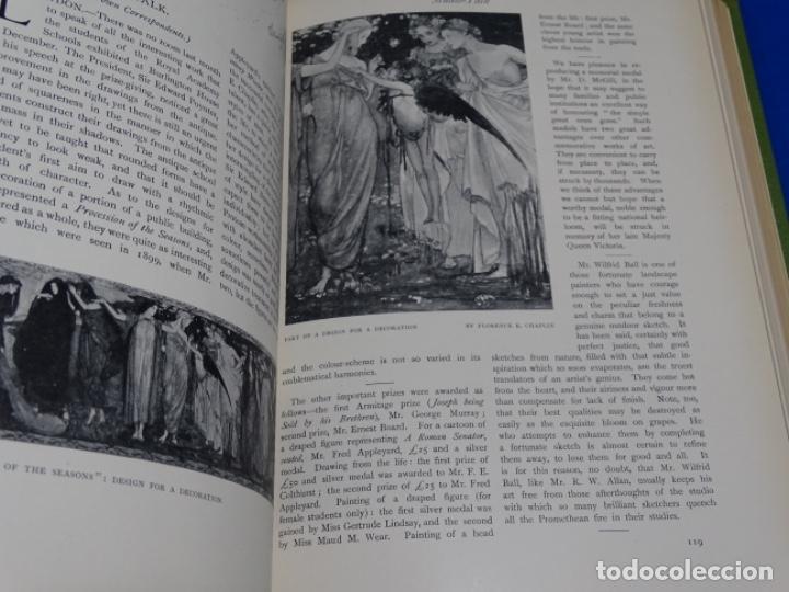Coleccionismo de Revistas y Periódicos: REVISTA THE STUDIO.AÑO 1901 - I - Foto 5 - 222087326