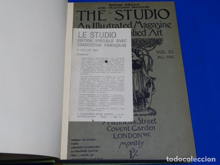 REVISTA THE STUDIO.AÑO 1901 - I I (Coleccionismo - Revistas y Periódicos Antiguos (hasta 1.939))