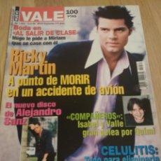 Coleccionismo de Revistas y Periódicos: REVISTA NUEVO VALE 1999 RICKY MARTÍN JARABE DE PALO ENRIQUE IGLESIAS. Lote 222088980