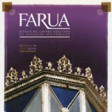 Coleccionismo de Revistas y Periódicos: FARUA REVISTA DEL CENTRO VIRGITANO DE ESTUDIOS HISTÓRICOS. N.º 13. AÑO 2010. Lote 222108623