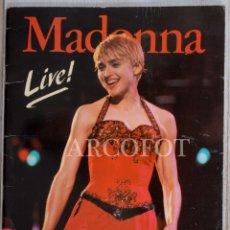 Coleccionismo de Revistas y Periódicos: MADONNA LIVE! - ERISA 1987. Lote 222108948