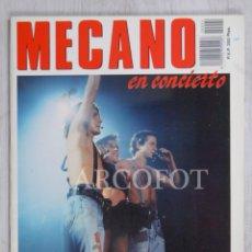 Coleccionismo de Revistas y Periódicos: MECANO EN CONCIERTO - ERISA 1988. Lote 222109231