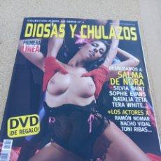 Coleccionismo de Revistas y Periódicos: REVISTA DIOSAS Y CHULAZOS. N. 4. SALMA DE NORA. Lote 222110998