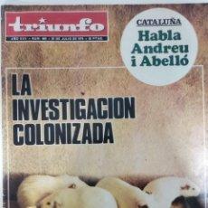Collezionismo di Riviste e Giornali: REVISTA TRIUNFO Nº 669 26 JULIO 1975. Lote 222151452