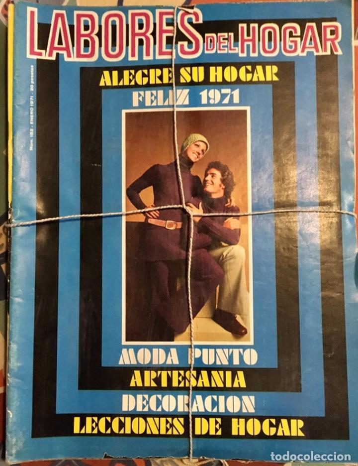 Coleccionismo de Revistas y Periódicos: EXTRAORDINARIO LOTE REVISTAS DE LABORES DEL HOGAR + FICHAS FABRA COATS + PATRONES - Foto 2 - 222157615