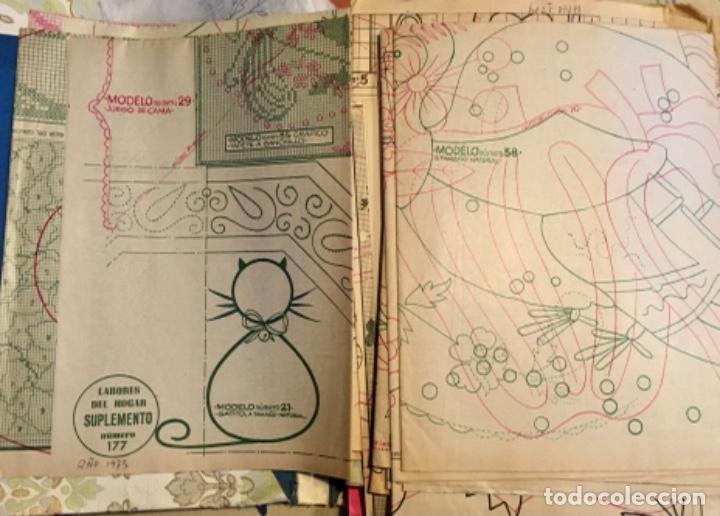 Coleccionismo de Revistas y Periódicos: EXTRAORDINARIO LOTE REVISTAS DE LABORES DEL HOGAR + FICHAS FABRA COATS + PATRONES - Foto 4 - 222157615