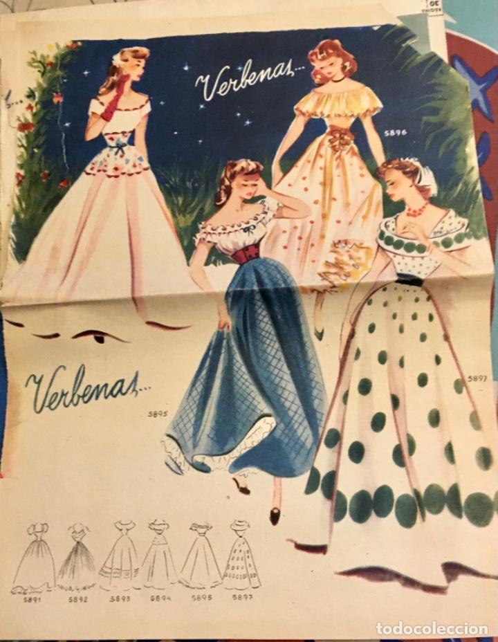 Coleccionismo de Revistas y Periódicos: EXTRAORDINARIO LOTE REVISTAS DE LABORES DEL HOGAR + FICHAS FABRA COATS + PATRONES - Foto 10 - 222157615