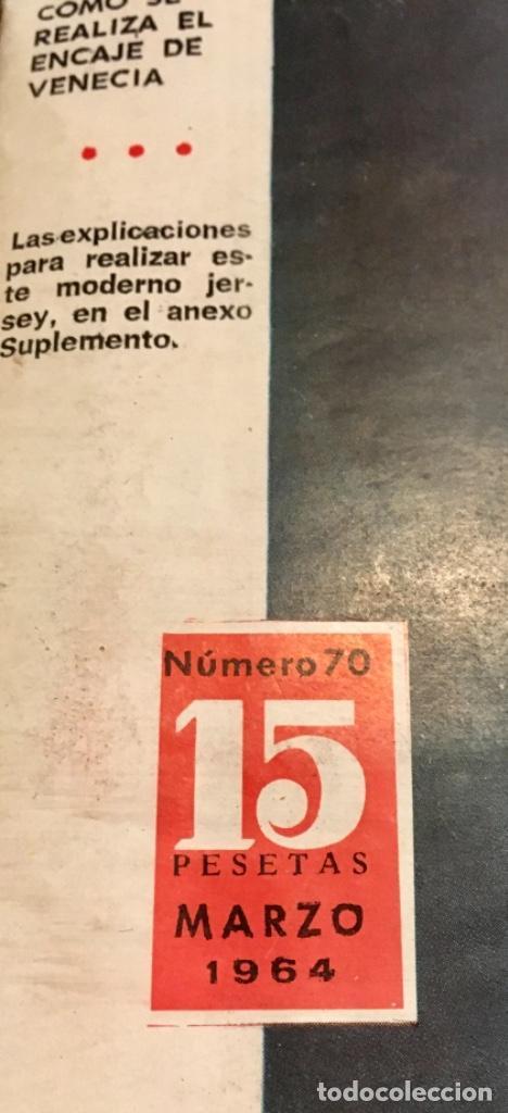 Coleccionismo de Revistas y Periódicos: EXTRAORDINARIO LOTE REVISTAS DE LABORES DEL HOGAR + FICHAS FABRA COATS + PATRONES - Foto 12 - 222157615