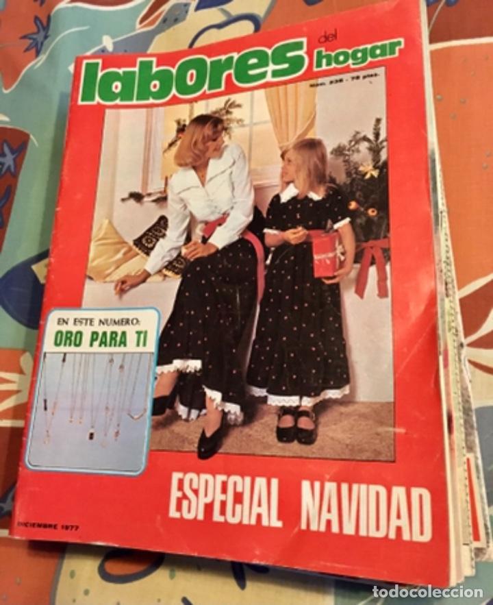 Coleccionismo de Revistas y Periódicos: EXTRAORDINARIO LOTE REVISTAS DE LABORES DEL HOGAR + FICHAS FABRA COATS + PATRONES - Foto 13 - 222157615
