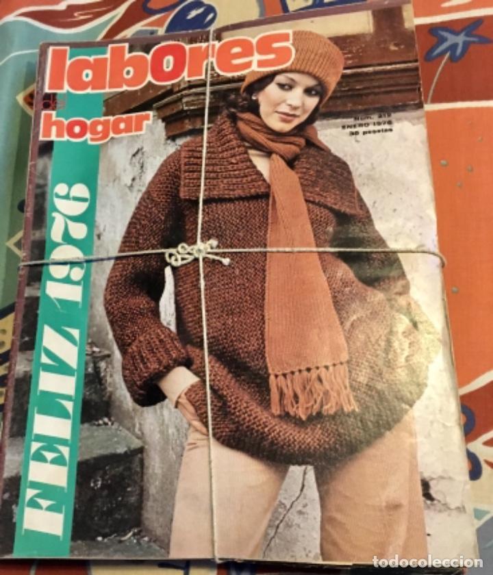 Coleccionismo de Revistas y Periódicos: EXTRAORDINARIO LOTE REVISTAS DE LABORES DEL HOGAR + FICHAS FABRA COATS + PATRONES - Foto 14 - 222157615
