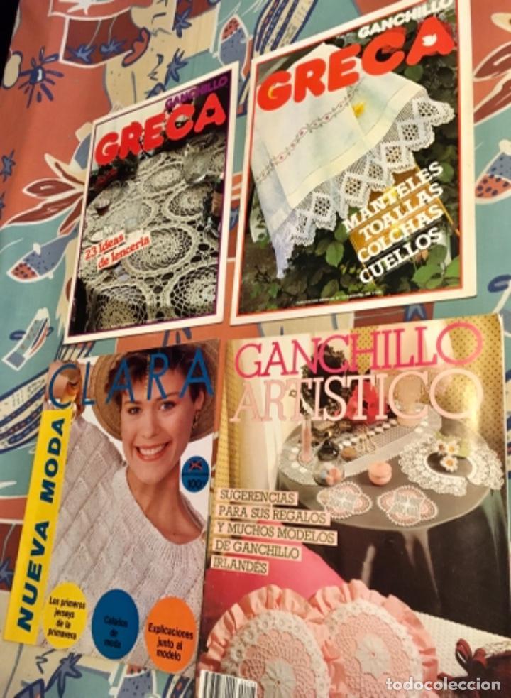 Coleccionismo de Revistas y Periódicos: EXTRAORDINARIO LOTE REVISTAS DE LABORES DEL HOGAR + FICHAS FABRA COATS + PATRONES - Foto 15 - 222157615