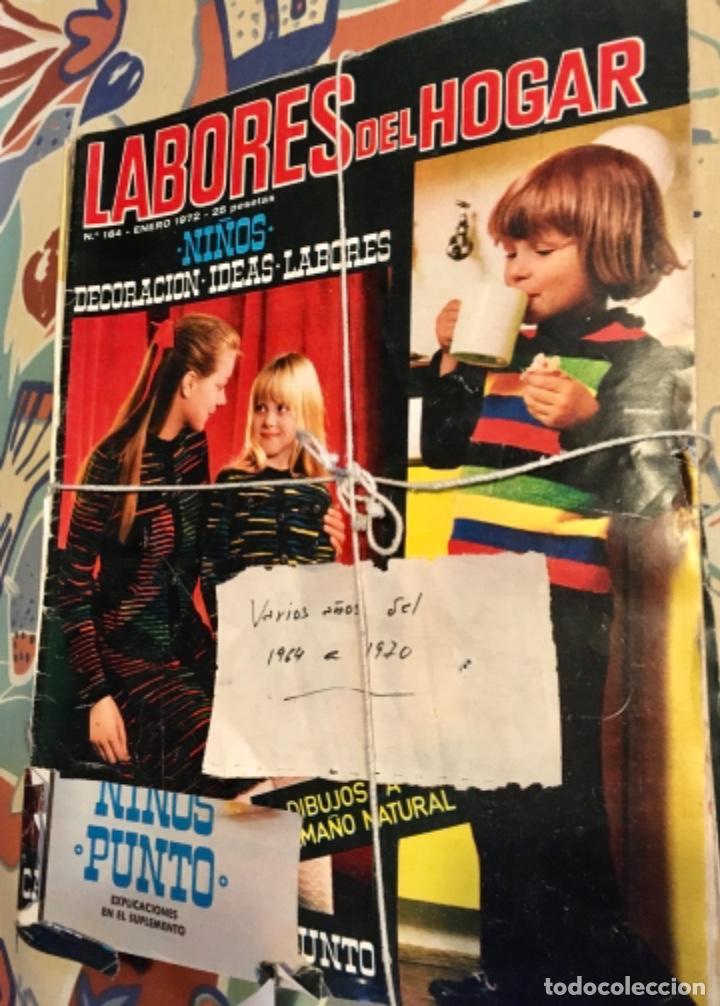 Coleccionismo de Revistas y Periódicos: EXTRAORDINARIO LOTE REVISTAS DE LABORES DEL HOGAR + FICHAS FABRA COATS + PATRONES - Foto 16 - 222157615