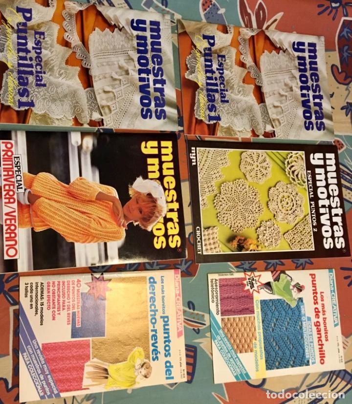 Coleccionismo de Revistas y Periódicos: EXTRAORDINARIO LOTE REVISTAS DE LABORES DEL HOGAR + FICHAS FABRA COATS + PATRONES - Foto 17 - 222157615