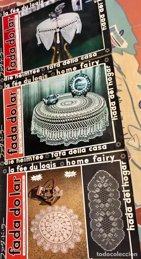 Coleccionismo de Revistas y Periódicos: EXTRAORDINARIO LOTE REVISTAS DE LABORES DEL HOGAR + FICHAS FABRA COATS + PATRONES - Foto 18 - 222157615
