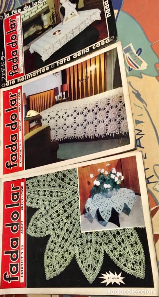 Coleccionismo de Revistas y Periódicos: EXTRAORDINARIO LOTE REVISTAS DE LABORES DEL HOGAR + FICHAS FABRA COATS + PATRONES - Foto 19 - 222157615
