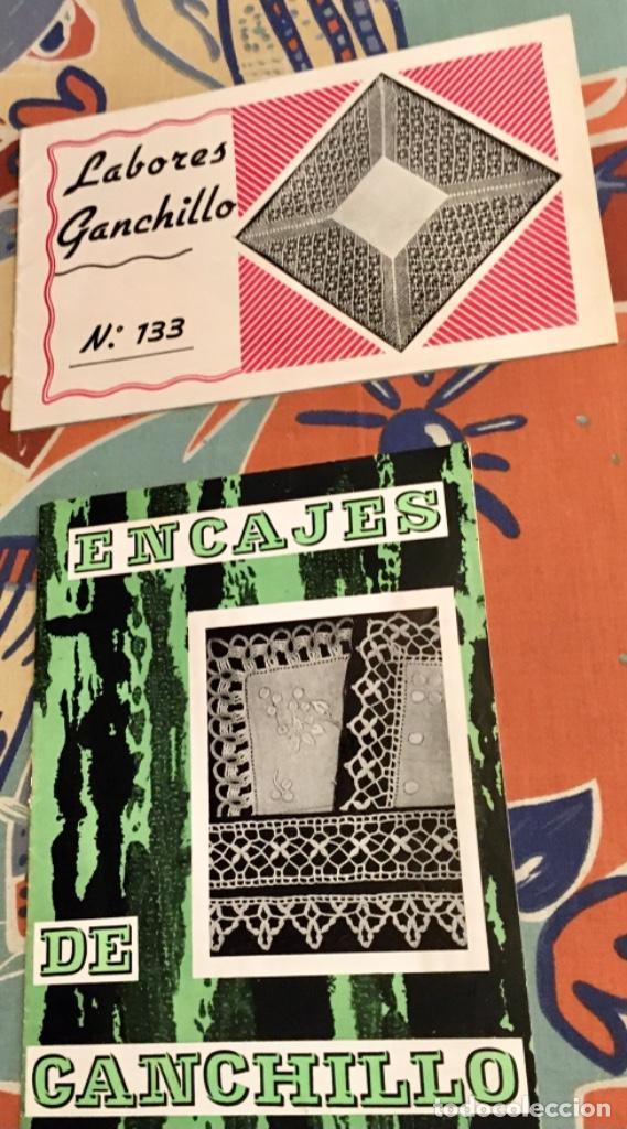Coleccionismo de Revistas y Periódicos: EXTRAORDINARIO LOTE REVISTAS DE LABORES DEL HOGAR + FICHAS FABRA COATS + PATRONES - Foto 20 - 222157615
