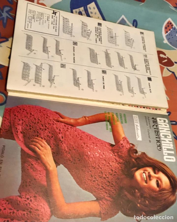 Coleccionismo de Revistas y Periódicos: EXTRAORDINARIO LOTE REVISTAS DE LABORES DEL HOGAR + FICHAS FABRA COATS + PATRONES - Foto 26 - 222157615