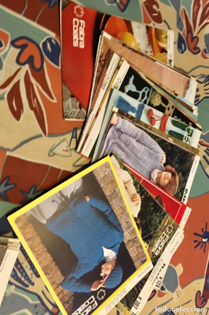 Coleccionismo de Revistas y Periódicos: EXTRAORDINARIO LOTE REVISTAS DE LABORES DEL HOGAR + FICHAS FABRA COATS + PATRONES - Foto 28 - 222157615