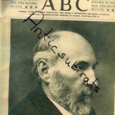 Coleccionismo de Revistas y Periódicos: ABC AÑO 1923 RAMON Y CAJAL GARCIA DE LEANIZ GONZALO BILBAO TRAJE CHARRO TIPICO DE SALAMANDA TEATRO. Lote 222193353