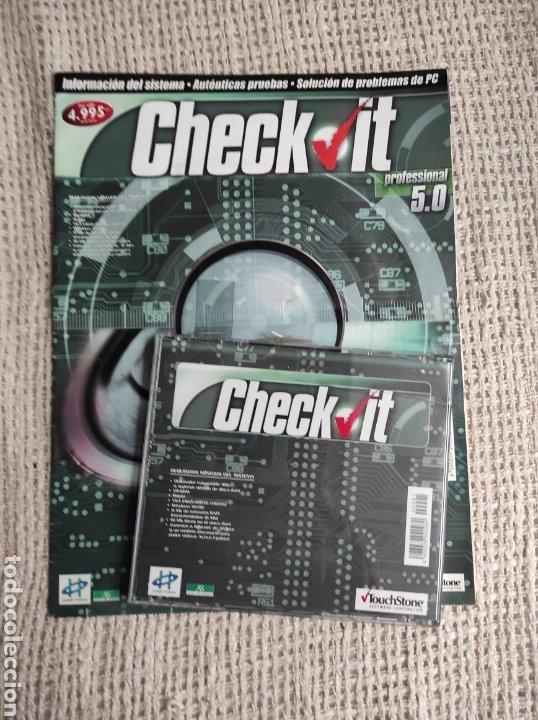 INFORMACION DE SISTEMAS , PROBLEMAS PC, CHECK IT PROFESIONAL 5.0 ( CD-ROM ) INFORMATICA - CON DISCO (Coleccionismo - Revistas y Periódicos Modernos (a partir de 1.940) - Otros)