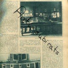 Coleccionismo de Revistas y Periódicos: ABC 1923 BIBLIOTECA NACIONAL ANTONIO MUÑOZ DEGRAIN BENLLIURE MONGRELL SOROLLA CABRERA CANTO ORTELLS. Lote 222224492