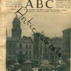 Coleccionismo de Revistas y Periódicos: ABC 1923 QUIOSCOS DE LA PLAZA DE LA CONSTITUCION EN MALAGA FEDERICO RUBIO MIGUEL BLAY TOMAS MAESTRE. Lote 222233698