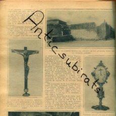 Coleccionismo de Revistas y Periódicos: ABC AÑO 1923 MONASTERIO DE LA ESPINA VILLAGARCIA DE CAMPOS JOAQUIN SANCHEZ DE TOCA DEPURATOL ZENKER. Lote 222233912
