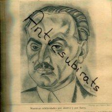 Coleccionismo de Revistas y Periódicos: ABC AÑO 1923 SANTAS CREUS SANTES DOCTOR GARCIA ANDRADE RELOJ LONGINES. Lote 222234261
