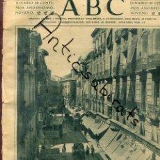 Coleccionismo de Revistas y Periódicos: ABC AÑO 1923 CALLE RAFAEL ALTAMIRA ALICANTE PANTICOSA ARANZAZU CARMEN MORAGAS. Lote 222235283