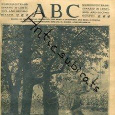 Coleccionismo de Revistas y Periódicos: ABC AÑO 1923 VALLE DE OYARZUN PUENTE DE ALMARAZ SANTUARIO VIRGEN DE LA CABEZA SIERRA MORENA. Lote 222236105