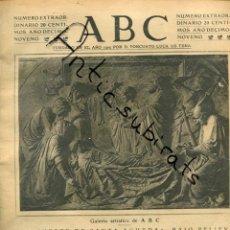 Coleccionismo de Revistas y Periódicos: ABC AÑO 1923 RICARDO BELLVER TALAVERA DE LA REINA CASTILLO ARENAS DE SAN PEDRO GREDOS. Lote 222236982