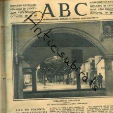Coleccionismo de Revistas y Periódicos: ABC AÑO 1923 SANGUESA NAVARRA CARICATURA JOSE SANCHEZ GUERRA CREDITO LOINAZ SAN SEBASTIAN. Lote 222237653