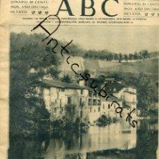 Coleccionismo de Revistas y Periódicos: ABC AÑO 1923 BARRIO DE ROCHAPERA PAMPLONA RAMON PEREZ DE AYALA PUEBLO DE PEÑAFIEL. Lote 222238412