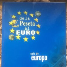 Coleccionismo de Revistas y Periódicos: DE LA PESETA AL EURO GUIA DE EUROPA - HERALDO DE ARAGÓN 1998.. Lote 222293175