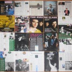 Coleccionismo de Revistas y Periódicos: THE SMITHS MORRISSEY UK CLIPPINGS MAGAZINE ARTICLES PHOTOS CUTTINGS MEMORABILIA. Lote 222311921