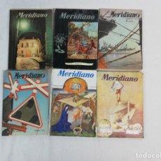 Coleccionismo de Revistas y Periódicos: LOTE DE 6 REVISTAS MERIDIANO 1956-57-58 SINTESIS DE LA PRENSA MUNDIAL. Lote 222330711