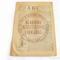 Coleccionismo de Revistas y Periódicos: DIARIO REPUBLICANO DE IZQUIERDAS ABC MADRID. BANDO REPUBLICANO. 2 DE SEPTIEMBRE 1938. GUERRA CIVIL. Lote 222369666