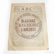 Coleccionismo de Revistas y Periódicos: DIARIO REPUBLICANO DE IZQUIERDAS ABC MADRID. BANDO REPUBLICANO. 23 DE SEPTIEMBRE 1938. GUERRA CIVIL. Lote 222373997
