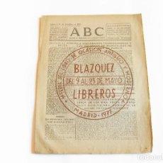 Coleccionismo de Revistas y Periódicos: DIARIO REPUBLICANO DE IZQUIERDAS ABC MADRID. BANDO REPUBLICANO. 14 DICIEMBRE DE 1938. GUERRA CIVIL. Lote 222375176