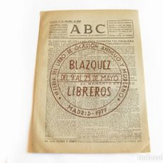 Coleccionismo de Revistas y Periódicos: DIARIO REPUBLICANO DE IZQUIERDAS ABC MADRID. BANDO REPUBLICANO. 17 DICIEMBRE DE 1938. GUERRA CIVIL. Lote 222375251