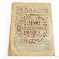 Coleccionismo de Revistas y Periódicos: DIARIO REPUBLICANO DE IZQUIERDAS ABC MADRID. BANDO REPUBLICANO. 30 DICIEMBRE DE 1938. GUERRA CIVIL. Lote 222375520