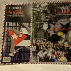 Coleccionismo de Revistas y Periódicos: CORREO DE CUBA. DOS REVISTAS. 2011.. Lote 222393286