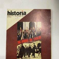 Coleccionismo de Revistas y Periódicos: HISTORIA 16. AÑO I. Nº 5. SEPTIEMBRE, 1976. 36 AÑOS DE EXITO POR JUAN MARICHAL. PAGS: 144. Lote 222444713