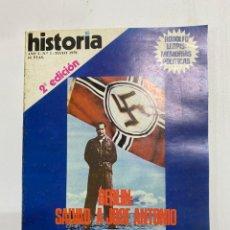 Coleccionismo de Revistas y Periódicos: HISTORIA 16. AÑO I. Nº 1. MAYO, 1976. 2ª EDICION. BERLIN: SALVAD A JOSE ANTONIO . PAGS: 146. Lote 222444996