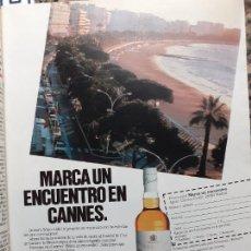 Coleccionismo de Revistas y Periódicos: ANUNCIO WHISKY WHITE LABEL. Lote 222511996