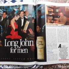 Coleccionismo de Revistas y Periódicos: ANUNCIO WHISKY LONG JOHN. Lote 222512316