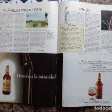 Coleccionismo de Revistas y Periódicos: ANUNCIO BRANDY MAGNO OSBORNE. Lote 222616050