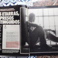 Coleccionismo de Revistas y Periódicos: ETA LOS ETARRAS PRESOS DISTINGUIDOS. Lote 222684402
